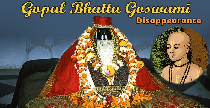 Gopala Bhatta goswami