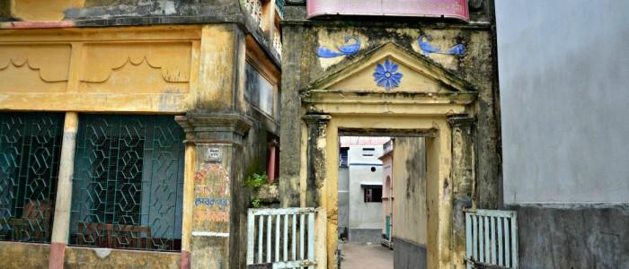Narahari Sarkar's residence at Srikhanda